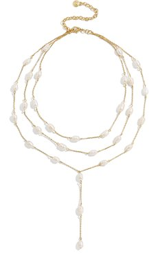 Abriella Freshwater Pearl Layered Y-Necklace