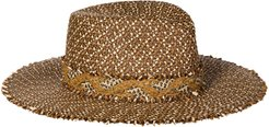 Zanzi Squishee Fedora - Brown