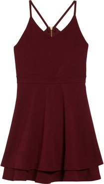 Girl's Love, Nickie Lew Illusion Back Skater Dress