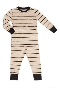 Infant Boy's Baby Grey By Everly Grey Fitted Two-Piece Pajamas