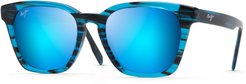 Shave Ice 52mm Polarized Sunglasses - Electric Blue