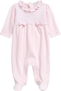 Infant Girl's Kissy Kissy Take Me Home Footie