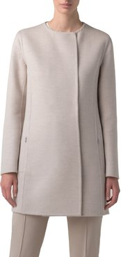 Madrisa Reversible Double Face Wool & Cashmere Coat