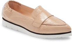 Micro Pointed Toe Loafer