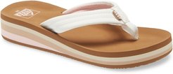 Girl's Reef Ahi Water Resistant Wedge Flip Flop