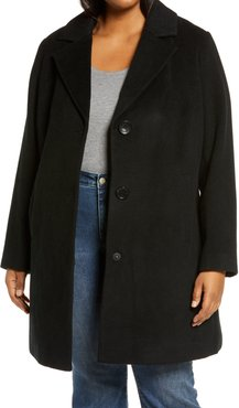 Plus Size Women's Sam Edelman Women's Wool Blend Coat