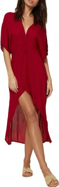 Saltwater Twist Cover-Up Tunic Dress