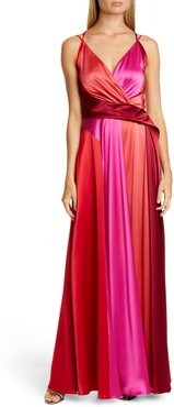 Satin Crepe Gown