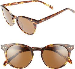 Oxford 49mm Sunglasses - Classic Tortoise/ Brown