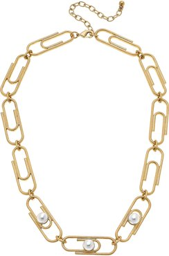 Trendsetter Paper Clip Chain Necklace