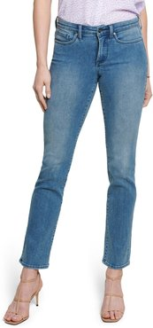 Sheri Slim Leg Quilted Jeans