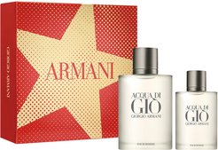 Acqua Di Gio Pour Homme Eau De Toilette Set (Usd $134 Value)