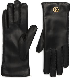 Gg Maya Leather Gloves