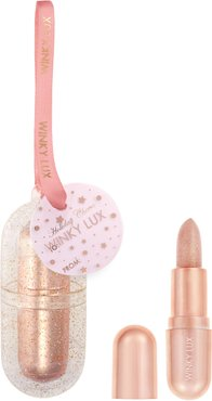 Holiday Cheer Full Size Rose Gold Glimmer Balm Ornament -
