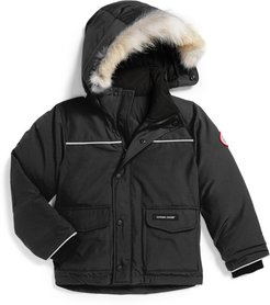 Toddler Canada Goose 'Lynx' Down Parka With Genuine Coyote Fur Trim
