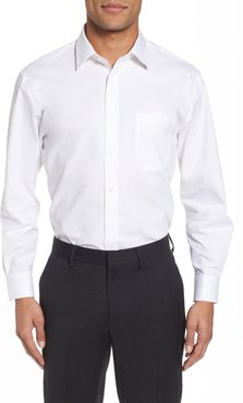 Big & Tall Nordstrom Men's Shop Tech-Smart Traditional Fit Stretch Pinpoint Dress Shirt