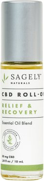Relief & Recovery Cbd Roll-On Essential Oil Blend