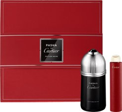 Pasha De Cartier Edition Noire Eau De Toilette Set (Usd $112 Value)