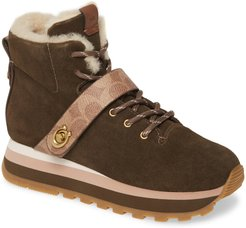 Urban Hiker Faux Shearling Lined Bootie