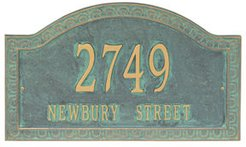 Personalized Penhurst Address Plaque