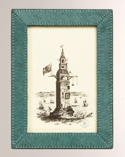 """Verwood Hair on Hide Picture Frame, 4"""" x 6"""""""
