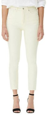 Olivia High-Rise Cropped Slim Jeans