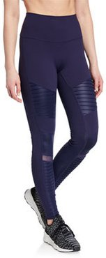 Moto High-Waist Sport Leggings