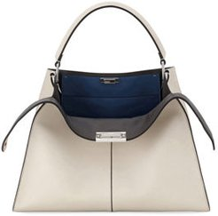 Peekaboo X-Lite Soft Calf Satchel Bag