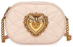 Devotion Leather Camera Bag with Heart Medallion