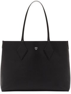 Shopper Project Medium Leather Tote Bag