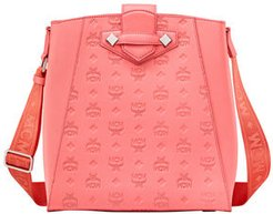 Essential Small Monogrammed Leather Tote Bag