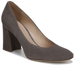 Beatrice Suede Slip-On Pumps