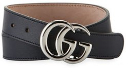 Kid's GG Leather Belt