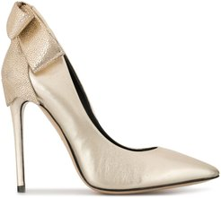 Gherda Bow 11 pumps - GOLD