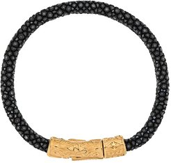 stingray band bracelet - Black