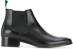 elasticated Chelsea boots - Black