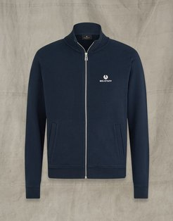 BELSTAFF ZIP THROUGH navy