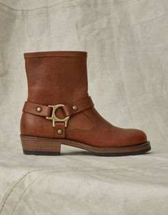 HARD RIDER LEATHER BOOTS Brown US 5 /