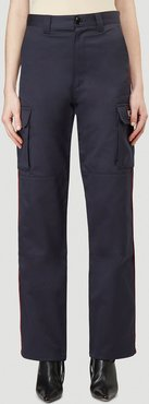 Police Cargo Pants in Blue size M