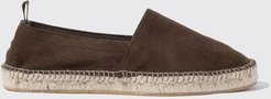 Most Wanted Italian Shoe Scarosso male Rafael Brown Dark Brown - Suede Suede Leather 39
