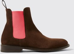 Chelsea Boots Italian Shoe Scarosso female Bruna Marrone Brown - suede Suede Leather 40