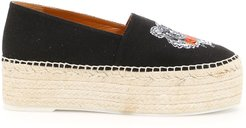 Espadrilles With Tiger Embroidery