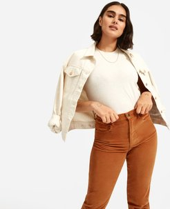 Cheeky Straight Corduroy Pant by Everlane in Acorn, Size 27
