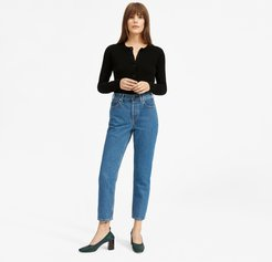 '90s Cheeky Straight Jean by Everlane in Medium Blue, Size 32