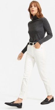 Cheeky Straight Jean by Everlane in Bone, Size 33