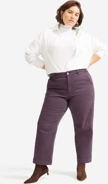 Straight Leg Crop by Everlane in Shadow, Size 0