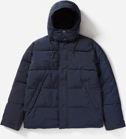 Hooded Puffer Jacket Coat by Everlane in Navy, Size XL
