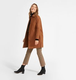 Mac Coat by Everlane in Cocoa Brown, Size 16