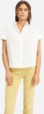 Square Air Shirt by Everlane in White, Size XXS