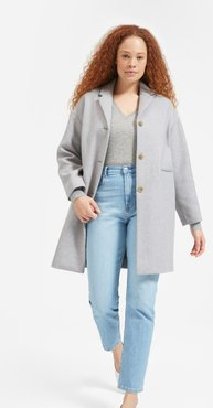 Cashmere V-Neck Sweater by Everlane in Heather Grey, Size S